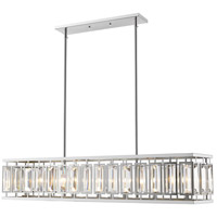 Z-Lite 6006-44CH Mersesse 7 Light 9 inch Chrome Pendant Ceiling Light