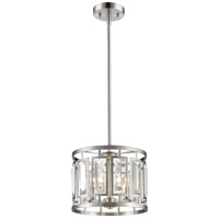 Brushed Nickel Steel Mersesse Pendants