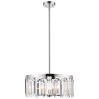 Z-Lite 6009-23CH Cormac 6 Light 24 inch Chrome Chandelier Ceiling Light