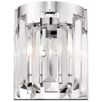 Z-Lite 6009-2S-CH Cormac 2 Light 9 inch Chrome Wall Sconce Wall Light