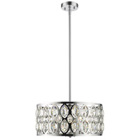 Z-Lite 6010-20CH Dealey 5 Light 20 inch Chrome Chandelier Ceiling Light
