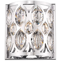 Z-Lite 6010-2S-CH Dealey 2 Light 9 inch Chrome Wall Sconce Wall Light
