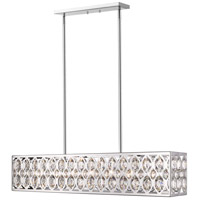 Z-Lite 6010-42CH Dealey 7 Light 9 inch Chrome Chandelier Ceiling Light