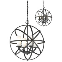 Aranya 4 Light 18 inch Bronze Pendant Ceiling Light