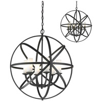Z-Lite Aranya 6 Light Pendant in Bronze 6017-6L-BRZ