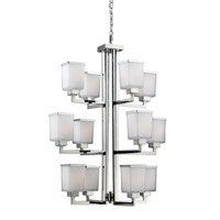 Z-Lite Affinia 12 Light Chandelier in Chrome 602-12
