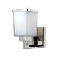 Z-Lite Affinia 1 Light Wall Sconce in Chrome 602-1S