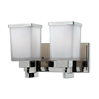 Z-Lite 602-2V Affinia 2 Light 12 inch Chrome Vanity Light Wall Light photo thumbnail