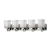 Z-Lite Affinia 5 Light Vanity in Chrome 602-5V