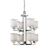 Z-Lite Affinia 8 Light Chandelier in Chrome 602-8