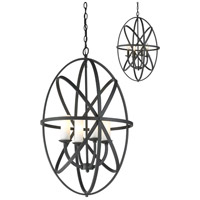 Aranya 4 Light 20 inch Bronze Pendant Ceiling Light