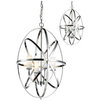 Aranya 4 Light 20 inch Chrome Pendant Ceiling Light
