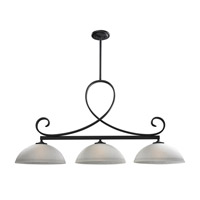 Z-Lite Arshe 3 Light Island Light in Cafe Bronze 603-3
