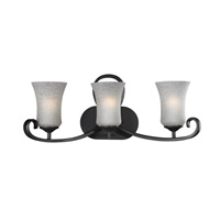 Arshe 3 Light 23 inch Café Bronze Vanity Wall Light