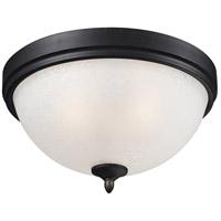 Z-Lite 603F2 Arshe 2 Light 13 inch Caf Bronze Flush Mount Ceiling Light