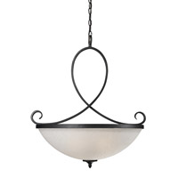Z-Lite Arshe 3 Light Pendant in Cafe Bronze 603P