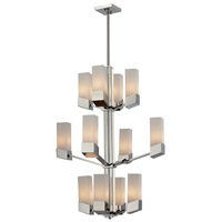 Z-Lite Zen 12 Light Chandelier in Chrome 607-12
