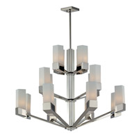 Z-Lite Zen 16 Light Chandelier in Chrome 607-16