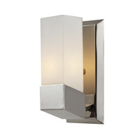 Zen 1 Light 5 inch Chrome Wall Sconce Wall Light