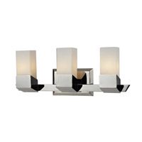 Z-Lite Zen 3 Light Vanity in Chrome 607-3V