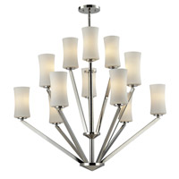 Elite 12 Light 36 inch Chrome Chandelier Ceiling Light