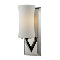 Z-Lite Elite 1 Light Wall Sconce in Chrome 608-1S-CH