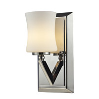 Elite 1 Light 5 inch Chrome Vanity Wall Light