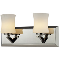 Z-Lite Elite 2 Light Vanity in Chrome 608-2V-CH