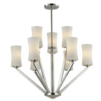 Z-Lite Elite 9 Light Chandelier in Chrome 608-3+6-CH
