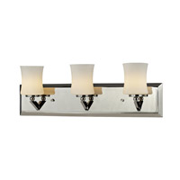 Elite 3 Light 21 inch Chrome Vanity Light Wall Light