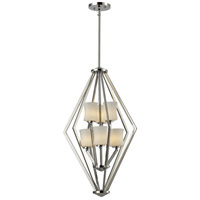 Elite 6 Light 17 inch Chrome Pendant Ceiling Light
