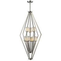 Z-Lite Elite 9 Light Pendant in Chrome 608-9-CH