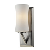 Z-Lite Elite 1 Light Wall Sconce in Brushed Nickel 609-1S-BN