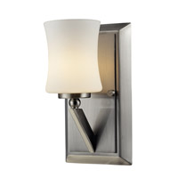 Z-Lite Elite 1 Light Vanity in Brushed Nickel 609-1V-BN