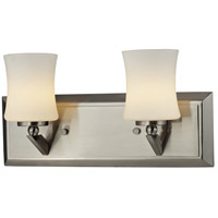 Z-Lite Elite 2 Light Vanity in Brushed Nickel 609-2V-BN