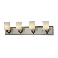 Z-Lite Elite 4 Light Vanity in Brushed Nickel 609-4V-BN