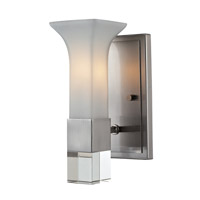 Z-Lite Lotus 1 Light Wall Sconce in Brushed Nickel 610-1S-BN