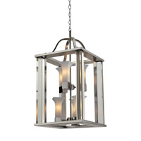 Z-Lite Lotus 6 Light Pendant in Brushed Nickel 610-30-BN