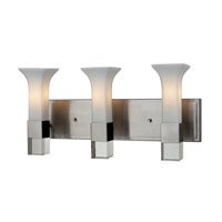 Z-Lite Lotus 3 Light Vanity in Brushed Nickel 610-3V-BN