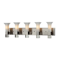 Z-Lite Lotus 5 Light Vanity in Brushed Nickel 610-5V-BN
