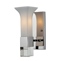 Z-Lite Lotus 1 Light Wall Sconce in Chrome 611-1S-CH
