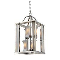 Z-Lite Lotus 6 Light Pendant in Chrome 611-30-CH