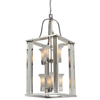Z-Lite Lotus 8 Light Pendant in Chrome 611-42-CH
