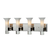 Z-Lite Lotus 4 Light Vanity in Chrome 611-4V-CH