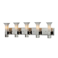Z-Lite Lotus 5 Light Vanity in Chrome 611-5V-CH photo thumbnail