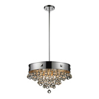 Z-Lite Iluva 4 Light Pendant in Chrome 612-19CH