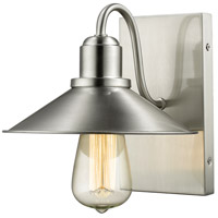 Z-Lite Casa 1 Light Wall Sconce in Brushed Nickel 613-1S-BN