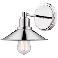 Z-Lite 613-1V-PN Casa 1 Light 10 inch Polished Nickel Vanity Wall Light