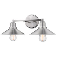 Z-Lite 613-2V-BN Casa 2 Light 18 inch Brushed Nickel Vanity Wall Light