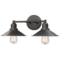 Z-Lite 613-2V-OB Casa 2 Light 18 inch Olde Bronze Vanity Wall Light